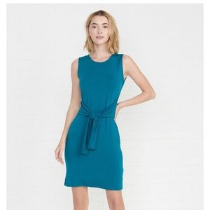 Sleeveless Colombo Dress in Teal